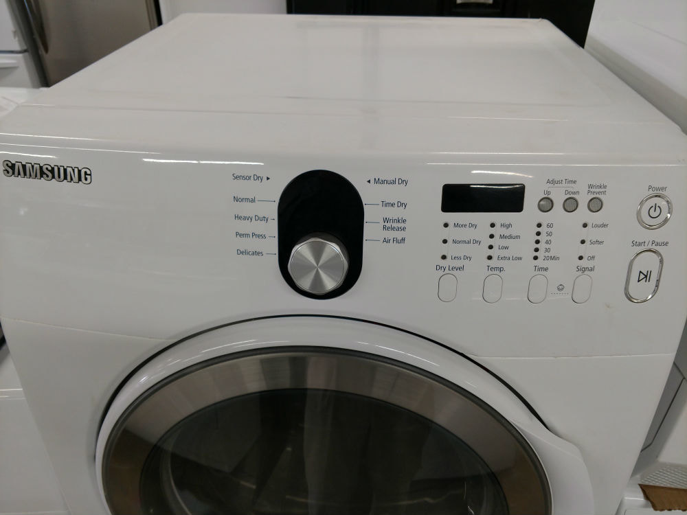 Used white dryer