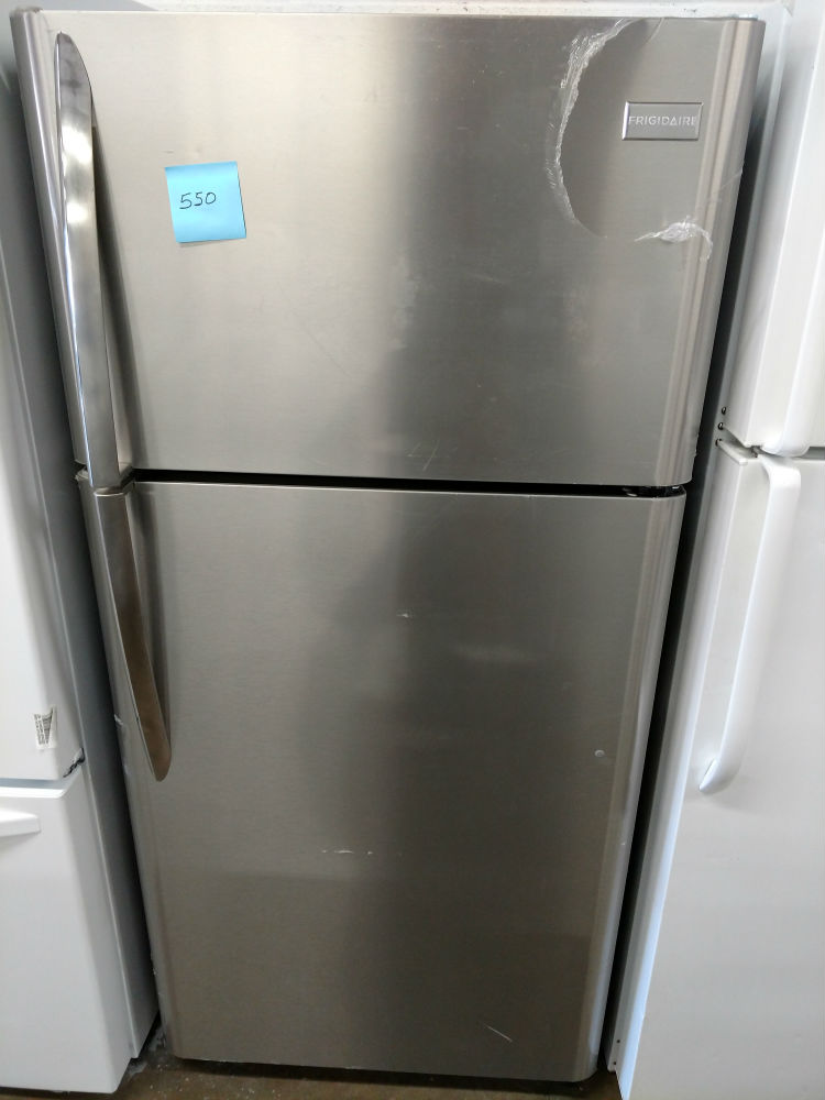 Whirlpool white side by side refrigerator